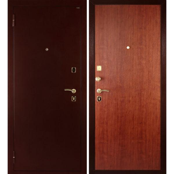 Входная металлическая дверь МД-01 (медь)