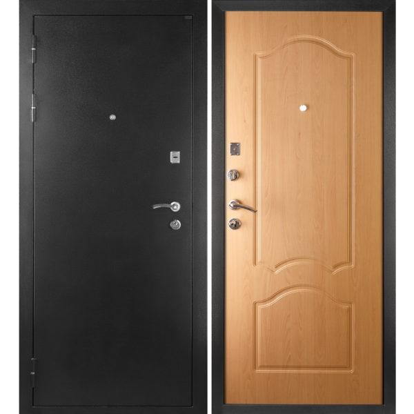 Входная металлическая дверь МД-04 (серебро)