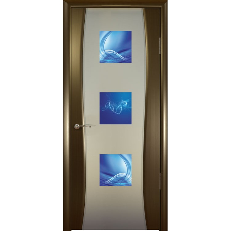 межкомнатная дверь со стеклом в интерьере фото