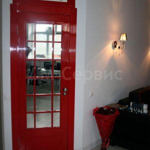 дверь в английском стиле телефонная будка