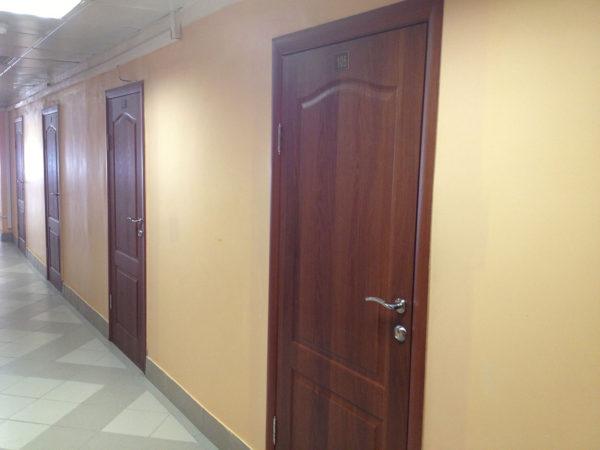 Межкомнатные ламинированные двери в государственном учреждении