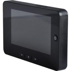 Видеоглазок для входной двери с монитором, записью, звонком и датчиком движения PST-4.0M
